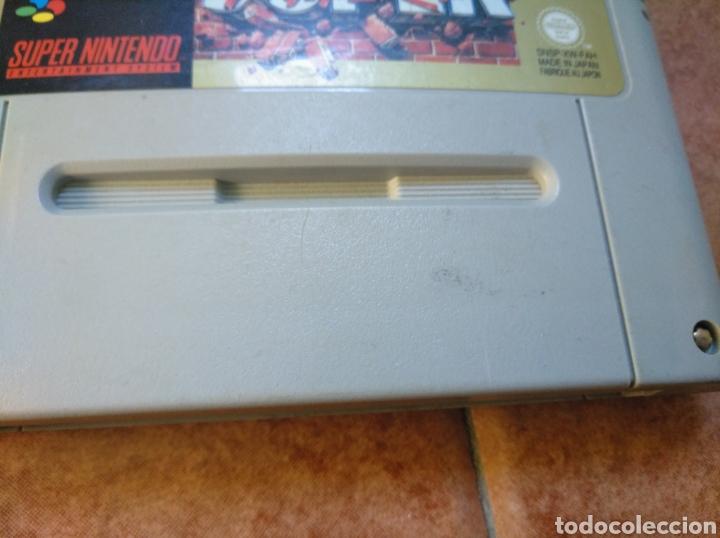 Videojuegos y Consolas: Consola super Nintendo original 1992 super street fighter 2 con mando y cables originales. - Foto 29 - 176203450