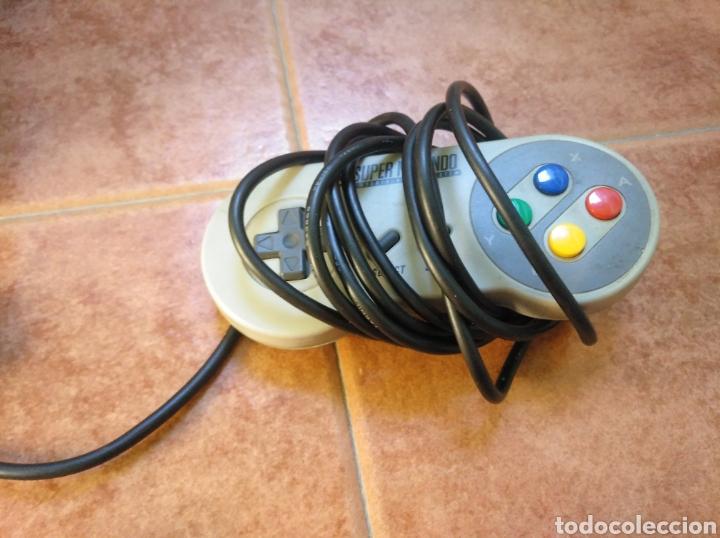 Videojuegos y Consolas: Consola super Nintendo original 1992 super street fighter 2 con mando y cables originales. - Foto 30 - 176203450