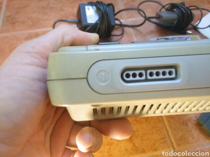 Videojuegos y Consolas: Consola super Nintendo original 1992 super street fighter 2 con mando y cables originales. - Foto 32 - 176203450