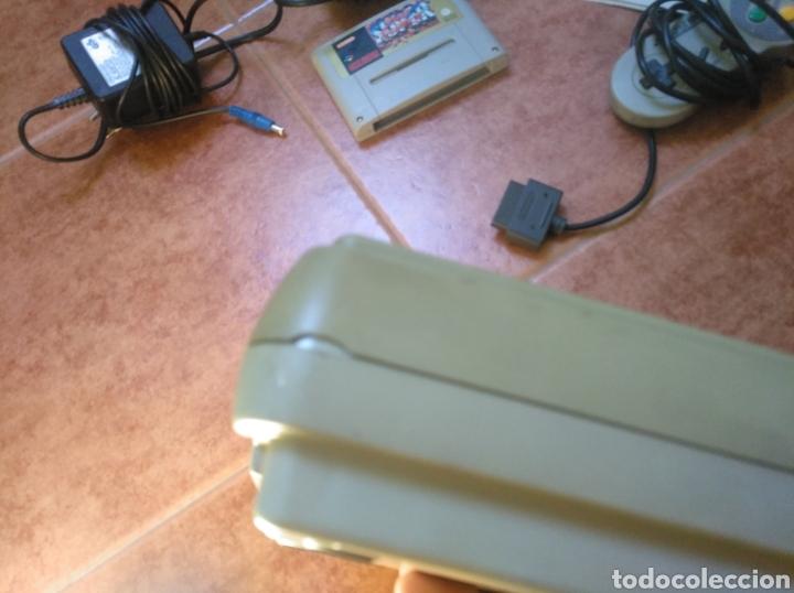 Videojuegos y Consolas: Consola super Nintendo original 1992 super street fighter 2 con mando y cables originales. - Foto 34 - 176203450