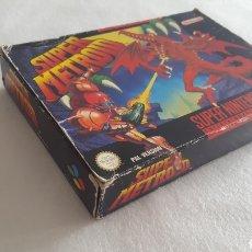 Videojuegos y Consolas: SUPER METROID SNES PAL-ESP. Lote 176374705