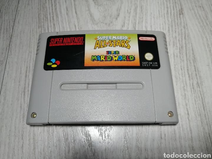 Videojuegos y Consolas: Super Mario super nintendo snes - Foto 2 - 176489252
