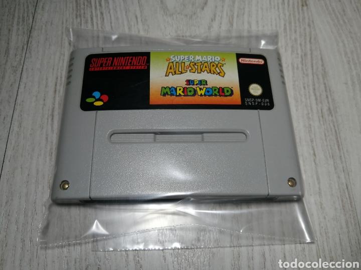 SUPER MARIO SUPER NINTENDO SNES (Juguetes - Videojuegos y Consolas - Nintendo - SuperNintendo)