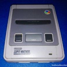 Videojuegos y Consolas: CONSOLA DE JUEGOS SUPER NINTENDO SNES (SOLO CONSOLA) --- BOX17. Lote 177459718