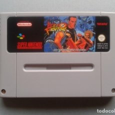 Videojuegos y Consolas: SUPER NINTENDO SNES ART OF FIGHTING PAL FAH SOLO CARTUCHO R9334. Lote 177473324