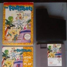 Videojuegos y Consolas: NINTENDO NES THE FLINTSTONES RESCUE OF DINO PAL B COMPLETO CIB BOXED NEAR MINT R9333. Lote 177474448