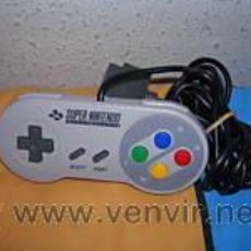 Videojuegos y Consolas: MANDO CONTROL PAD PARA SUPER NINTENDO SNES ORIGINAL. Lote 222033222