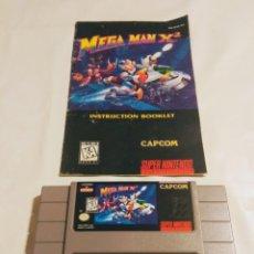 Videojuegos y Consolas: MEGAMAN X2 SNES. Lote 177945540