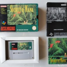 Videojuegos y Consolas: SECRET OF MANA SUPER NINTENDO SNES. Lote 178135140