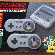 Videojuegos y Consolas: SUPER NINTENDO CLASSIC MINI. Lote 178149649