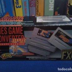 Videojuegos y Consolas: SUPER NINTENDO SNES ( SNES GAME CONVERTER - EUROPE VERSION ) MD- 909 FIRE - SUPER FX. Lote 178627426