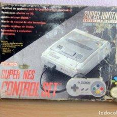 Videojuegos y Consolas: SUPER NINTENDO, SUPER NES CONTROL SET, CON CAJA VER DETALLES. Lote 178885537