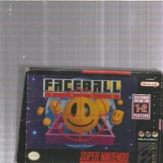 Videojuegos y Consolas: FACEBALL SUPERNINTENDO. Lote 178926927