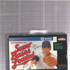 Videojuegos y Consolas: SUPER BASES LOADED SUPER NINTENDO. Lote 178927155