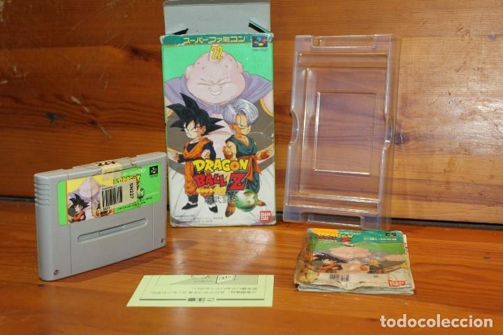JUEGO NINTENDO DRAGON BALL Z 3 SNES SUPER FAMICOM JAPON (Juguetes - Videojuegos y Consolas - Nintendo - SuperNintendo)
