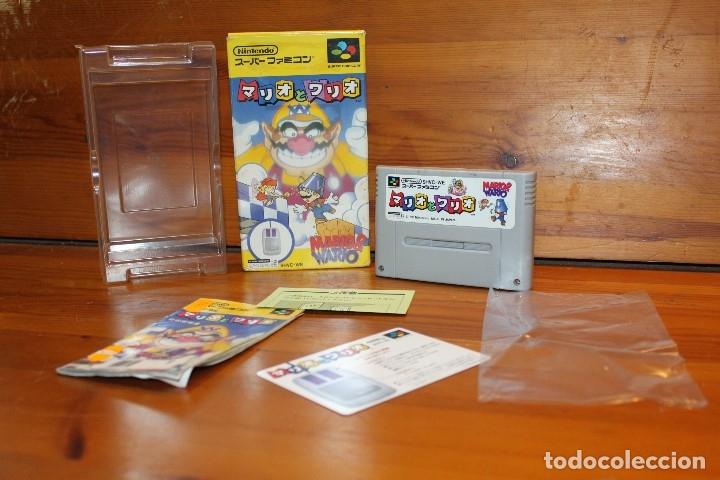 NINTENDO SNES FAMICOM JUEGO SUPER MARIO (Juguetes - Videojuegos y Consolas - Nintendo - SuperNintendo)