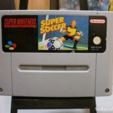 Videojuegos y Consolas: JUEGO SUPER NINTENDO SUPER SOCCER. Lote 178960056