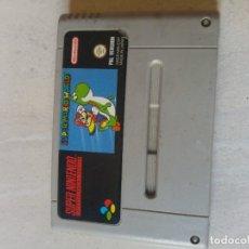 Videojuegos y Consolas: SUPER MARIO WORLD SNES SUPER NINTENDO PAL-ESPAÑA. Lote 179072502