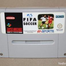 Videojuegos y Consolas: JUEGO SNES SUPER NINTENDO: FIFA INTERNATIONAL SOCCER - PAL. Lote 179539705