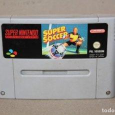 Videojuegos y Consolas: JUEGO SNES SUPER NINTENDO: SUPER SOCCER - PAL. Lote 180111725