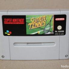 Videojuegos y Consolas: JUEGO SNES SUPER NINTENDO: SUPER TENNIS - PAL. Lote 180265803