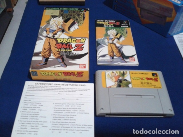 JUEGO PARA SUPER NINTENDO SNES ( DRAGON BALL Z - SUPER BUTODEN ) FAMICOM JAPAN BANDAI (Juguetes - Videojuegos y Consolas - Nintendo - SuperNintendo)