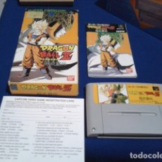 Videojuegos y Consolas: JUEGO PARA SUPER NINTENDO SNES ( DRAGON BALL Z - SUPER BUTODEN ) FAMICOM JAPAN BANDAI. Lote 180406422