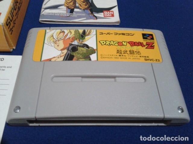 Videojuegos y Consolas: JUEGO PARA SUPER NINTENDO SNES ( DRAGON BALL Z - SUPER BUTODEN ) FAMICOM JAPAN BANDAI - Foto 2 - 180406422