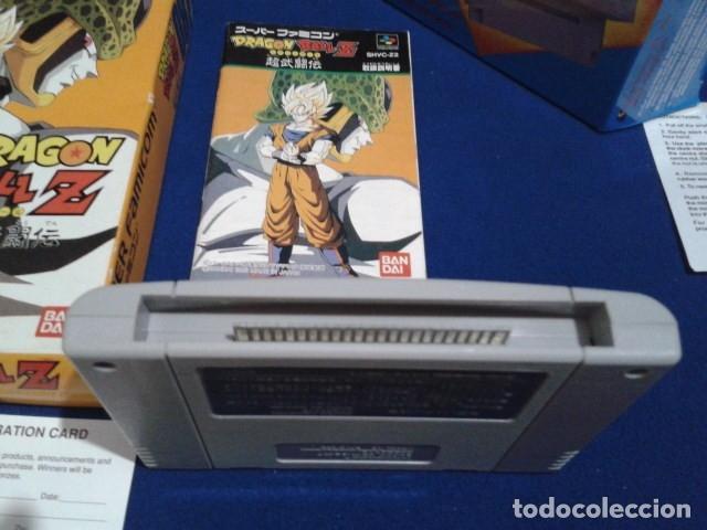 Videojuegos y Consolas: JUEGO PARA SUPER NINTENDO SNES ( DRAGON BALL Z - SUPER BUTODEN ) FAMICOM JAPAN BANDAI - Foto 3 - 180406422