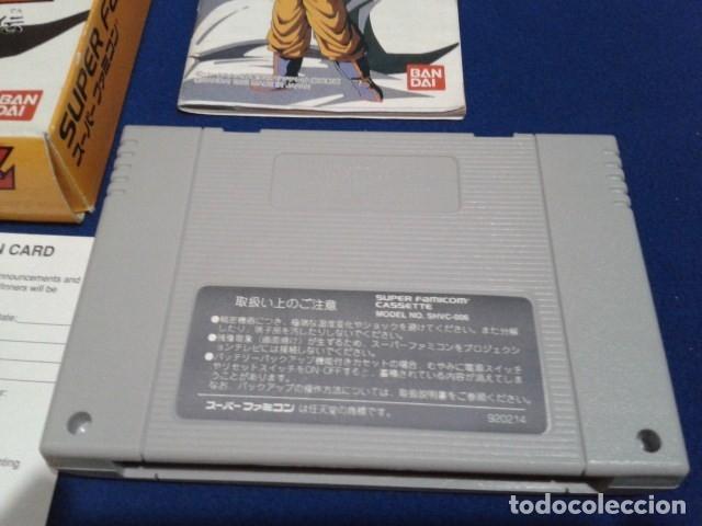 Videojuegos y Consolas: JUEGO PARA SUPER NINTENDO SNES ( DRAGON BALL Z - SUPER BUTODEN ) FAMICOM JAPAN BANDAI - Foto 4 - 180406422