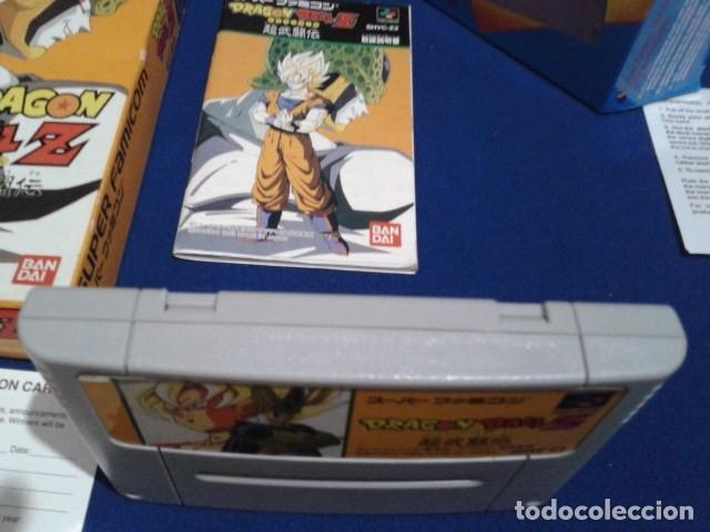 Videojuegos y Consolas: JUEGO PARA SUPER NINTENDO SNES ( DRAGON BALL Z - SUPER BUTODEN ) FAMICOM JAPAN BANDAI - Foto 5 - 180406422