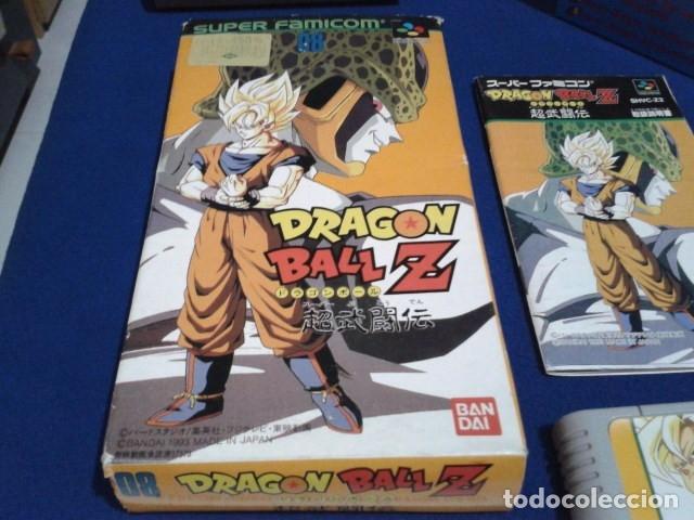 Videojuegos y Consolas: JUEGO PARA SUPER NINTENDO SNES ( DRAGON BALL Z - SUPER BUTODEN ) FAMICOM JAPAN BANDAI - Foto 6 - 180406422