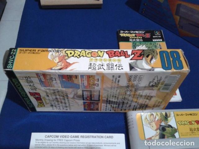 Videojuegos y Consolas: JUEGO PARA SUPER NINTENDO SNES ( DRAGON BALL Z - SUPER BUTODEN ) FAMICOM JAPAN BANDAI - Foto 7 - 180406422