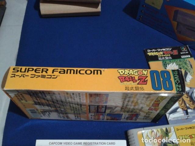 Videojuegos y Consolas: JUEGO PARA SUPER NINTENDO SNES ( DRAGON BALL Z - SUPER BUTODEN ) FAMICOM JAPAN BANDAI - Foto 9 - 180406422