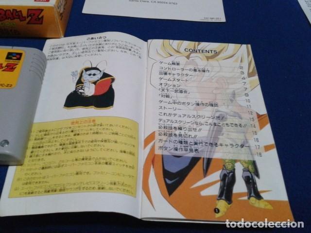 Videojuegos y Consolas: JUEGO PARA SUPER NINTENDO SNES ( DRAGON BALL Z - SUPER BUTODEN ) FAMICOM JAPAN BANDAI - Foto 15 - 180406422