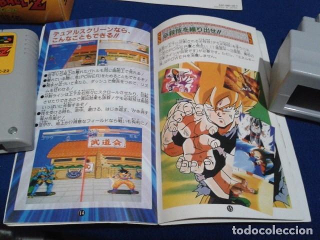 Videojuegos y Consolas: JUEGO PARA SUPER NINTENDO SNES ( DRAGON BALL Z - SUPER BUTODEN ) FAMICOM JAPAN BANDAI - Foto 16 - 180406422