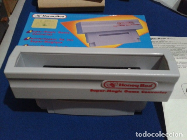 ADAPTADOR SUPER MAGIC GAME CONVERTER ( HONEY BEE ) PARA SUPER NINTENDO SNES FAMICOM JAPAN USA (Juguetes - Videojuegos y Consolas - Nintendo - SuperNintendo)