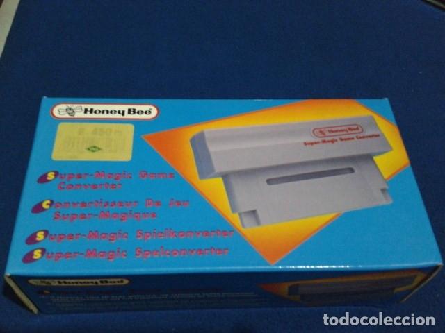 Videojuegos y Consolas: ADAPTADOR SUPER MAGIC GAME CONVERTER ( HONEY BEE ) PARA SUPER NINTENDO SNES FAMICOM JAPAN USA - Foto 8 - 180409721