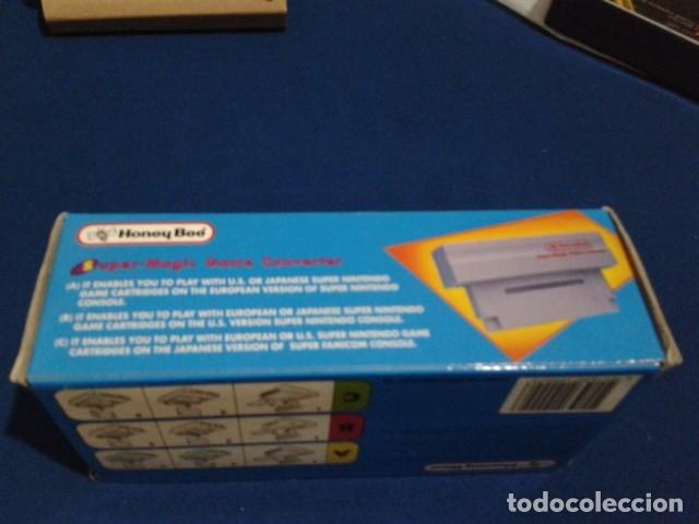 Videojuegos y Consolas: ADAPTADOR SUPER MAGIC GAME CONVERTER ( HONEY BEE ) PARA SUPER NINTENDO SNES FAMICOM JAPAN USA - Foto 11 - 180409721