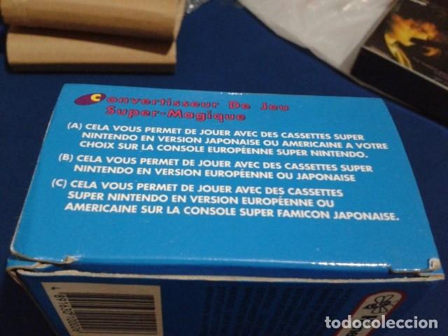 Videojuegos y Consolas: ADAPTADOR SUPER MAGIC GAME CONVERTER ( HONEY BEE ) PARA SUPER NINTENDO SNES FAMICOM JAPAN USA - Foto 13 - 180409721