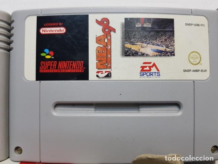Videojuegos y Consolas: Lote juegos Súper Nintendo 3 Súper Bases Loaded etc - Foto 3 - 181173568