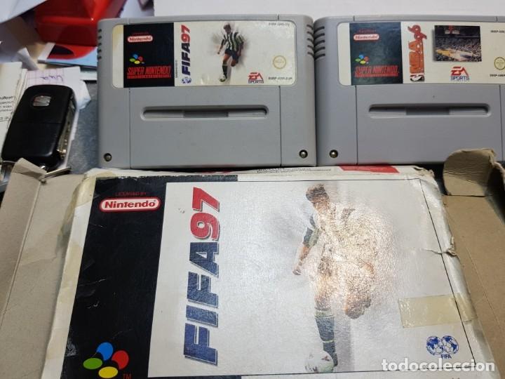 Videojuegos y Consolas: Lote juegos Súper Nintendo 3 Súper Bases Loaded etc - Foto 4 - 181173568