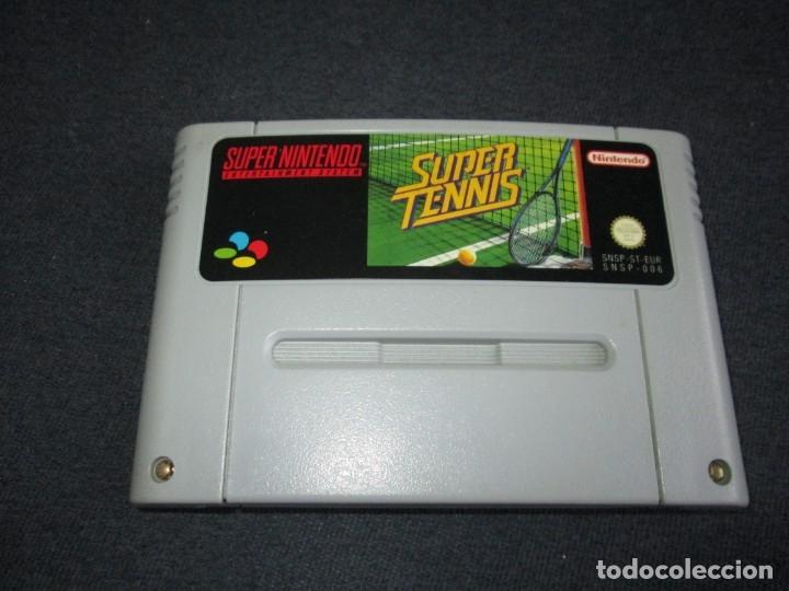 SUPER NINTENTO (SNES) ~ SUPER TENNIS ~ PAL/EUR (Juguetes - Videojuegos y Consolas - Nintendo - SuperNintendo)