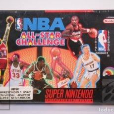 Videojuegos y Consolas: VIDEOJUEGO PRECINTADO PARA CONSOLA SUPER NINTENDO - NBA ALL-STAR CHALLENGE / BALONCESTO - AÑO 1992. Lote 182499487