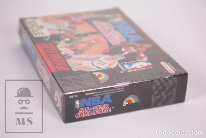 Videojuegos y Consolas: Videojuego Precintado para Consola Super Nintendo - NBA All-Star Challenge / Baloncesto - Año 1992 - Foto 2 - 182499487