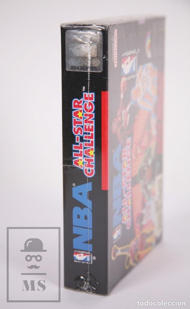 Videojuegos y Consolas: Videojuego Precintado para Consola Super Nintendo - NBA All-Star Challenge / Baloncesto - Año 1992 - Foto 4 - 182499487