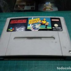 Videojuegos y Consolas: SUPER NINTENDO JUEGO SUPER SOCCER. Lote 182609938