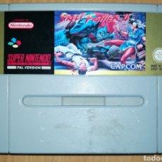 Videojuegos y Consolas: STREET FIGHTER II ORIGINAL SUPER NINTENDO SUPERNINTENDO SNES PAL ESPAÑA. Lote 183844328