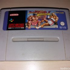 Videojuegos y Consolas: SUPER NINTENDO - STREET FIGHTER II TURBO. Lote 187421607