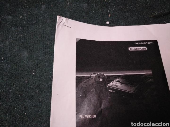 Videojuegos y Consolas: Consola super Nintendo original 1992 super street fighter 2 con mando y cables originales. - Foto 35 - 176203450